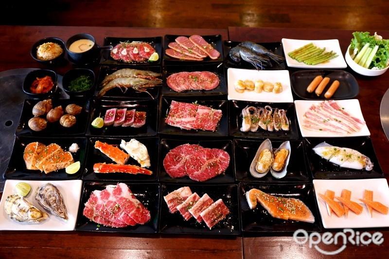 เมนูอาหารร้าน Guru Gyuu Yakiniku