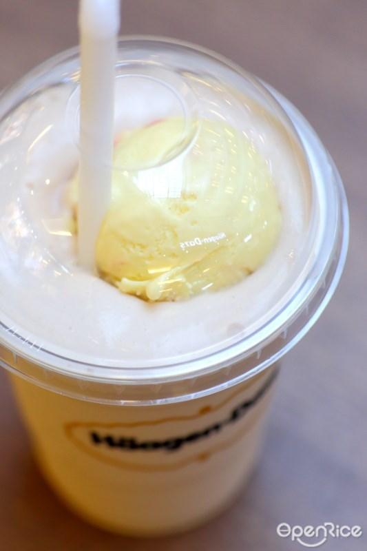 Mango&Raspberry Shake เมนูใหม่ที่ร้านไอศกรีม ฮาเก้น-ดาส Häagen-Dazs