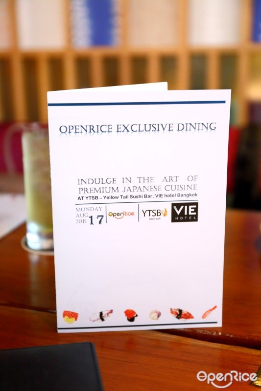 OpenRice Exclusive Dining @ YTSB