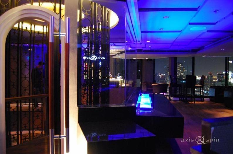 รวมร้าน Rooftop ดูพลุ และเคาท์ดาวน์สู่ปี 2016 ไปด้วยกัน! Axis & Spin Sky bar and Restaurant at The Continent Hotel Bangkok