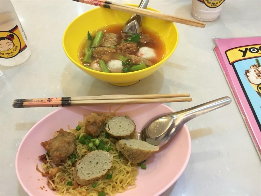 รวมร้านอาหาร เยาวราช ต้อนรับตรุษจีน 2559 ยู้ ลูกชิ้นปลาเยาวราช หรือก๋วยเตี๋ยวยู้ลูกชิ้นปลา