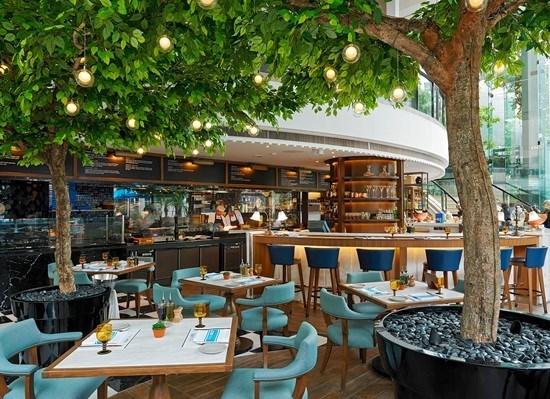 ห้องอาหารทีโอ มีโอ โรงแรมอินเตอร์คอนติเนนตัล กรุงเทพฯ