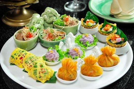 อาหารไทย ทาปาสตำรับไทย