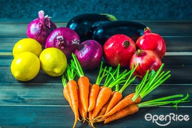 ผักผลไม้ 5 สี