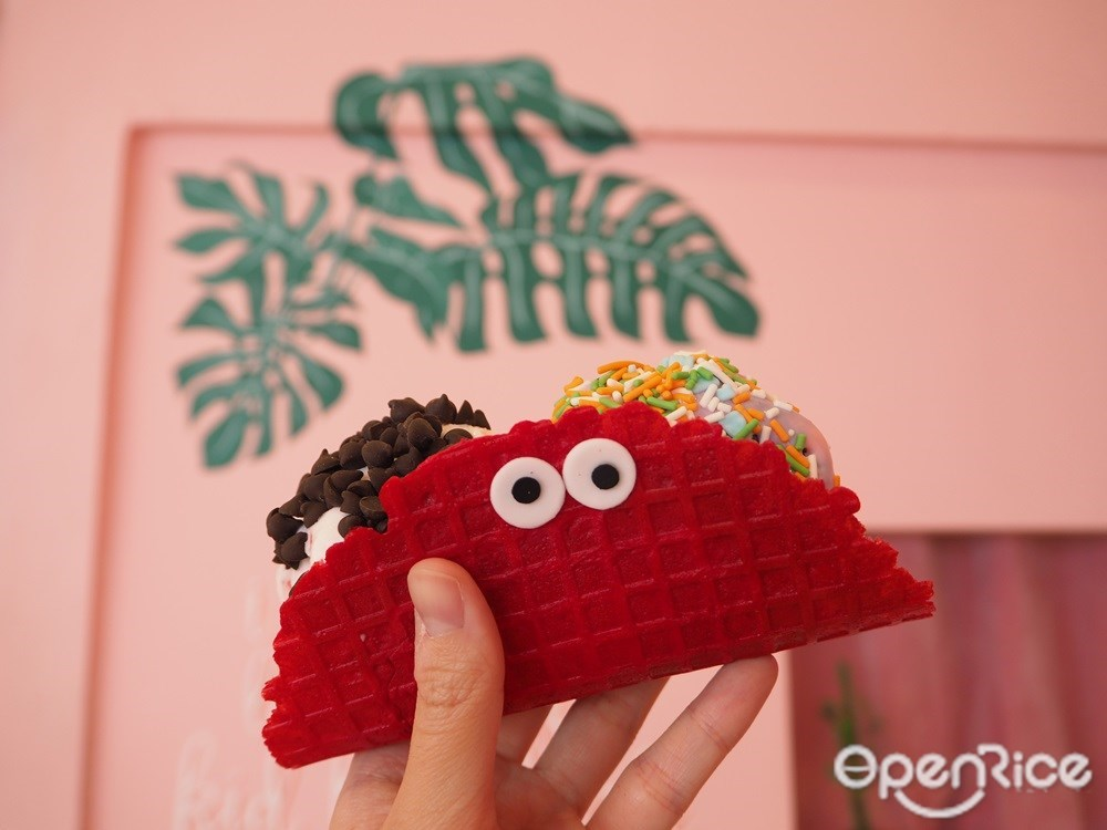 Taco icecream 125.-