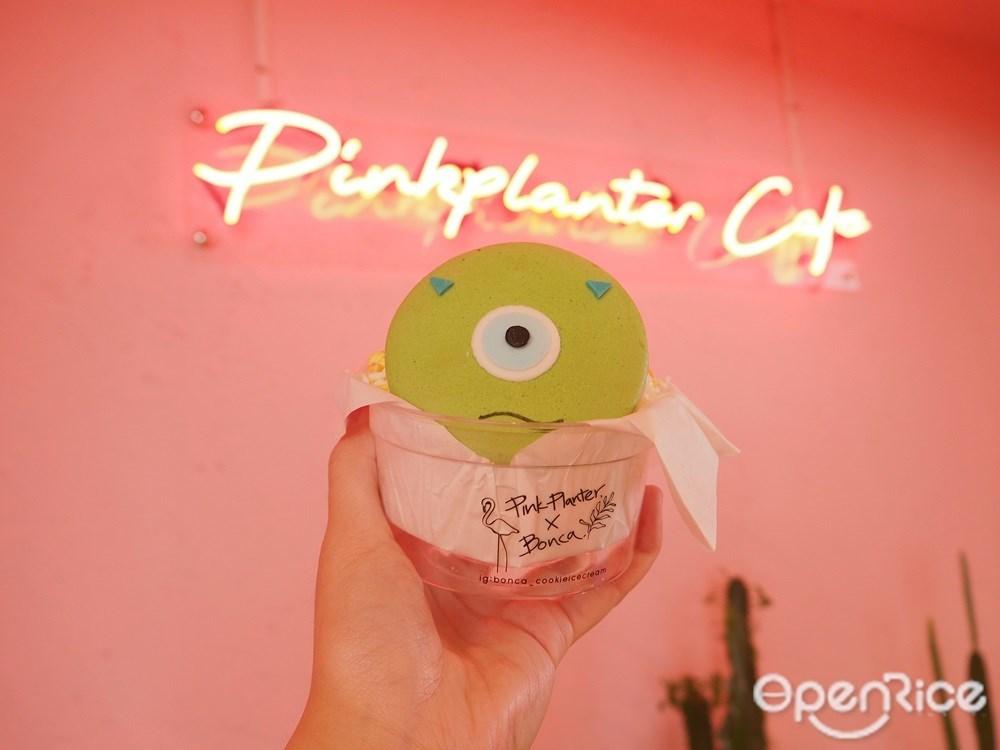 Macaron icecream sandwich 135.-