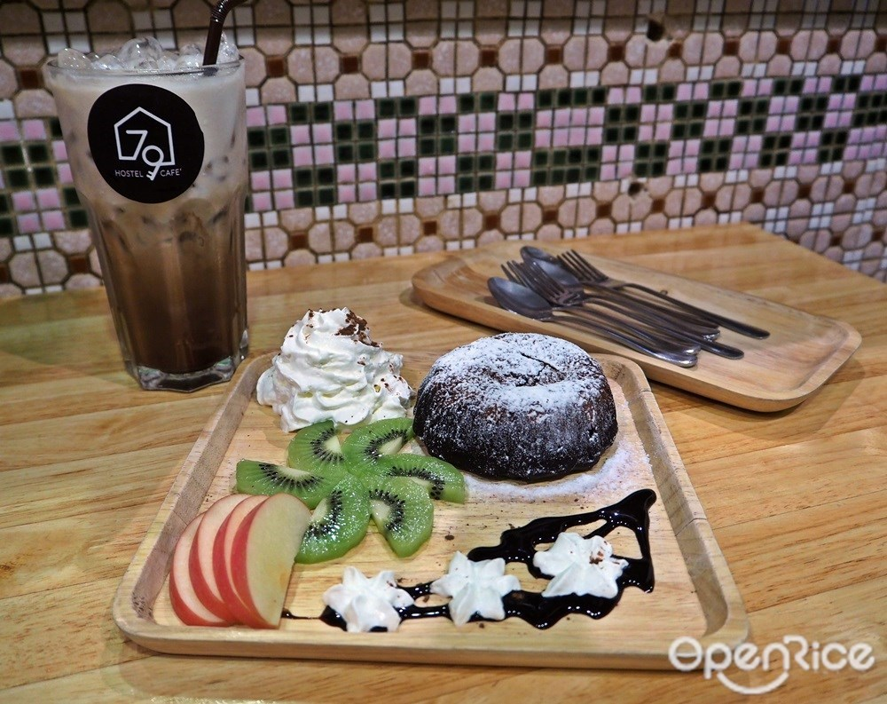 Chocolate Lava 85.- และ Peppermint Mocha 85.-