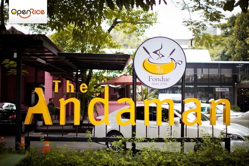 ร้านฟองดูอร่อย The Andaman