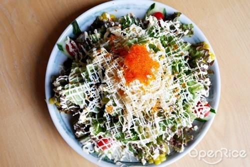 Shirauo Salad